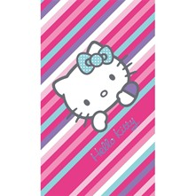 Hello Kitty Paris - Drap de plage - rose