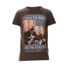 Born To Ride - T-shirt - anthracite