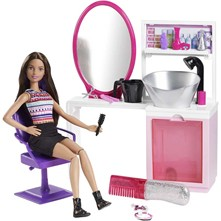 Barbie - Studio coiffure - multicolore