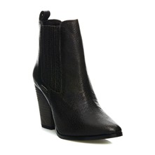 Cindy Metallic - Bottines - noir