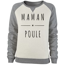 Sweat-shirt - bicolore