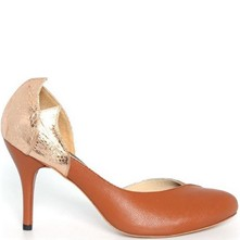 Dallas - Escarpins en cuir - marron
