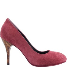 Laure - Escarpins en cuir - rouge