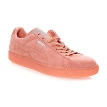 Suede - Sneakers in pelle scamosciata - salmone