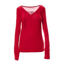Top/tee-shirt - cerise