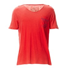Sallin - T-shirt - rouge