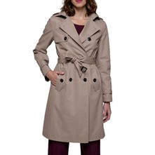 FORME TRENCH, IMPERMÉABLE : TRENCH - GRIS Trench and coat