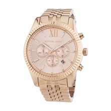 Lexington - Montre en acier inoxydable - rose