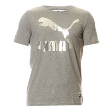 Text Hom - T-shirt - gris