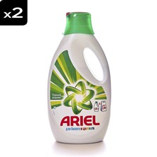 Mountain Spring - Lot de 2 - Ariel lessive liquide - 26 lavages