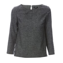 Iris - Blouse - gris chine
