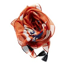 Traft - Foulard - brique