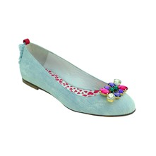 Candy Kiss - Ballerines - bleu ciel