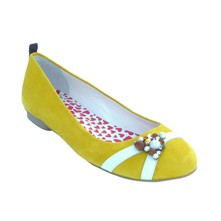 New Day Girl Secret - Ballerines en cuir - jaune