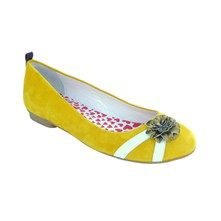 New Day Girl Amaratine - Ballerines en cuir - jaune
