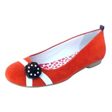 New Day Girl Echoes - Ballerines en cuir - orange