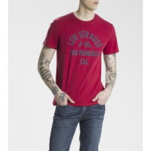 Graphic - T-shirt - rouge