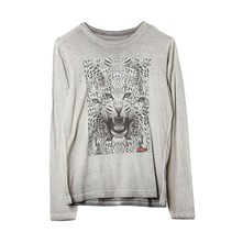 Transfer - T-shirt - gris chine