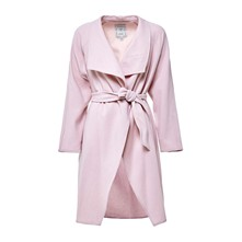Manteau en laine - rose