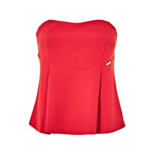 Bustier - rouge
