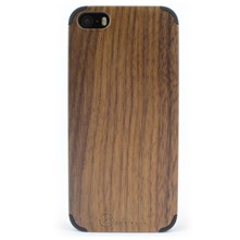 Coque pour iPhone 5-5S et SE Wood - marron
