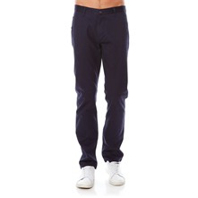 Bic Alpha slim tapered stretch - Pantalon chino - bleu marine