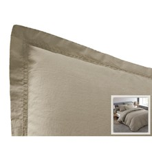 Drap housse - taupe