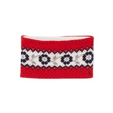 Snood en laine - rouge