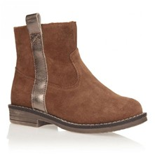 Julie - Bottines en cuir - camel