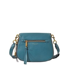Recruit Saddle - Besace en cuir - bleu