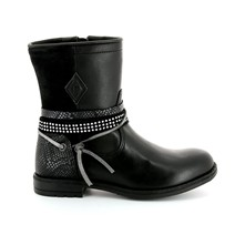 Wholly Mix - Boots en cuir - noir