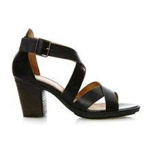 Getty - Sandales en cuir - noir