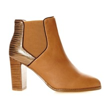 Alberty - Bottines - camel
