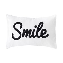 Coussin rectangulaire - blanc
