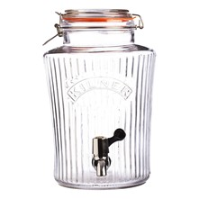 Distributeur vintage 8 L - transparent