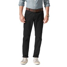 Bic Alpha slim tapered stretch - Pantalon chino - noir