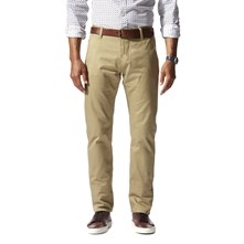 Bic Alpha slim tapered stretch - Pantalon chino - beige