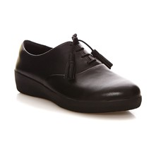 Superoxford - Derby in pelle - nero