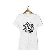 Mistake Abstract - T-shirt - blanc