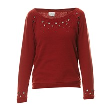 Zoe - Sweat-shirt - brique