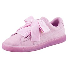 Heart - Sneakers in pelle scamosciata - rosa