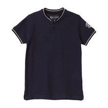 Pistol - Polo - blu scuro