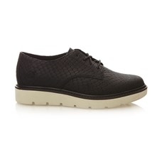 KENNISTON LACE OX JET BLACK Oxford/Low - Derby - nero