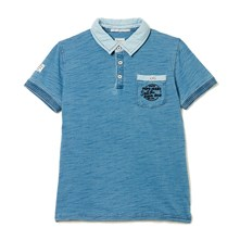 Peter Jr - Polo - blu grezzo