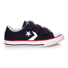 STAR PLYR 3V OX NAVY/WHT - Sneakers - blu scuro