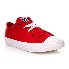 CHUCK TAYLOR ALL STAR II OX SALSA RED/WHITE/NAVY - Sneakers alte - rosso