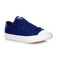 CHUCK TAYLOR ALL STAR II OX SODALITE BLUE/WHITE/NAVY - Sneakers - blu