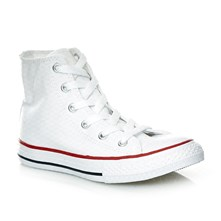 Chuck Taylor All Star Hi - Junior - Sneakers alte - bianco