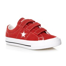 ONE STAR 3V OX RED/WHITE/BLACK - Sneakers - rosso