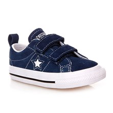 ONE STAR 2V OX NAVY/WHITE/BLACK - Sneakers alte - blu scuro